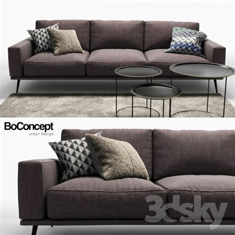 Bo Concept Sofa by 3d Models Sofa Sofa Bo Concept