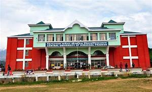 Central University of Himachal Pradesh Recruitment 2017 ...