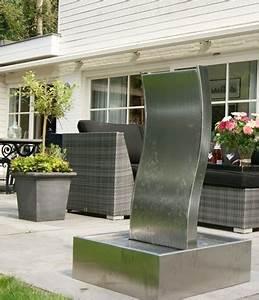 Wasserspiel Für Terrasse : ubbink edelstahl wasserspiel genova komplettset ~ Michelbontemps.com Haus und Dekorationen