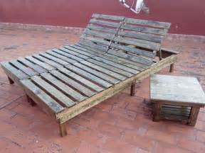 Construire Chaise Longue Palette by Diy Pallet Chaise Lounge Chairs 99 Pallets