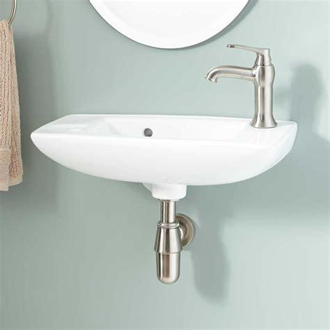 wall mount kitchen sink belvidere porcelain wall mount bathroom sink bathroom