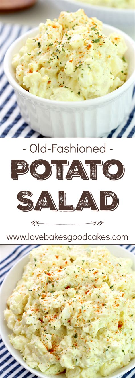 fashioned potato salad recipe love bakes good