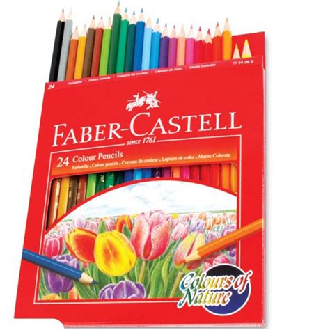 faber castell color pencils buy faber castell color pencil 24piece in uae