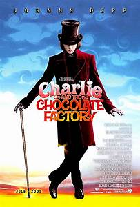 Charlie And The Chocolate Factory - Fantasy Movie Poster
