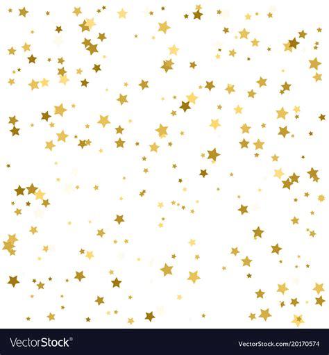Gold Confetti Background Gold Confetti Celebration Background Golden Vector Image