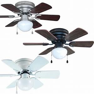 Inch flush mount hugger ceiling fan w light kit bronze