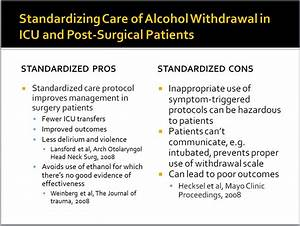 ... on Treatment of Alcohol Withdrawal – The Practical Psychosomaticist  Alcohol withdrawal Alcohol Withdrawal Delirium