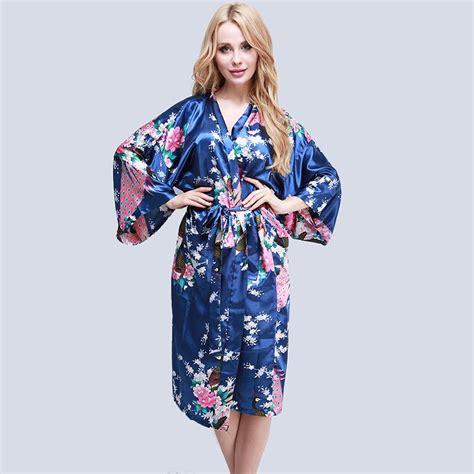 femme peignoir satin kimono nuisette robe de