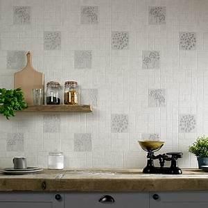 papier peinture trompe luil carrelage de cuisine with With papier peint trompe l oeil cuisine