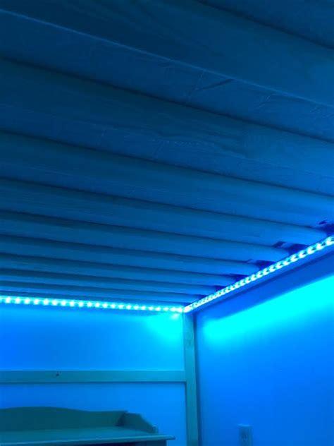 Led Lights For Room Ikea by 25 Kura Lighting Mini Hack Peyton S Room Bunk Bed