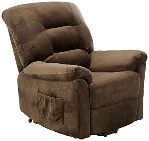 check price coaster power lift recliner chocolate sue