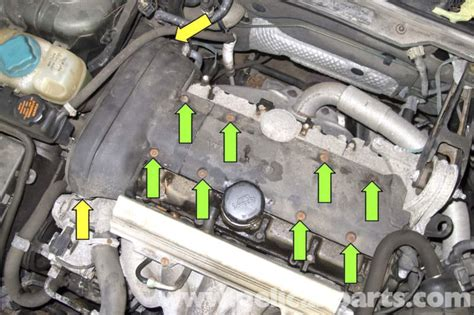 volvo  spark plug coil replacement