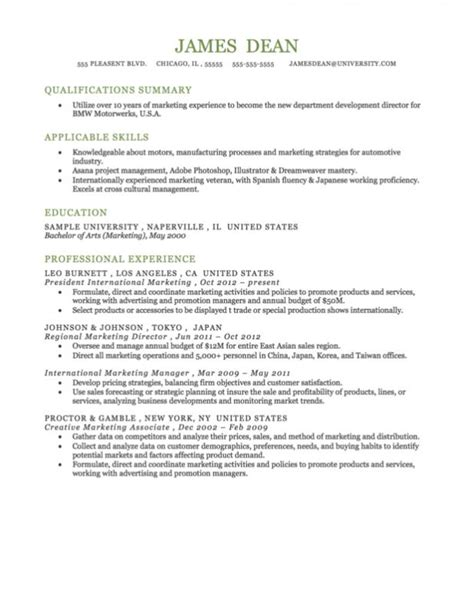 Format Of Functional Resume by Functional Resume Format Template Business