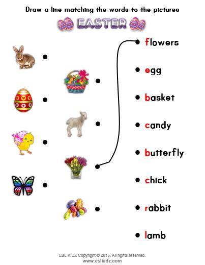 easter activities games  worksheets  kids