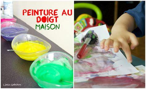 cuisine 18 mois activité sensorielle peinture au doigt fait maison