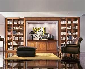 Schrank Für Wohnzimmer : wertvolle b cherregal mit schrank und scheinwerfer f r wohnzimmer idfdesign ~ Eleganceandgraceweddings.com Haus und Dekorationen