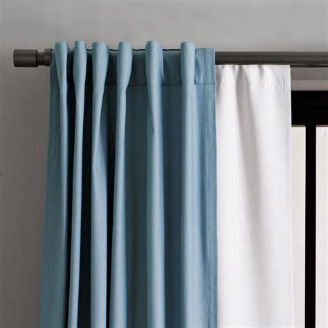 light blue blackout curtains light blue and white blackout curtains curtain