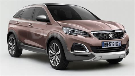 Peugeot Crossover by 2016 Peugeot 3008 Render Shows Transition To Crossover