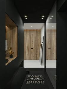 Black, And, White, Interior, Design, Ideas, Modern, Apartment, By