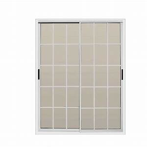 air master windows and doors 60 in x 80 in aluminum With 60x80 french doors