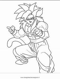 Super Saiyan 4 Goku Free Coloring Pages On Art Coloring