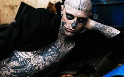 Tattoos Background Wallpapers Rick Zombies Genest Allwallpaper