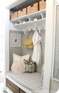 Coat Closet Turned Mudroom by Entry Closet Organization Ideas Home Design Inside