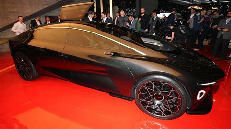 Aston Martin Lagonda Vision Points To Luxurious Electric