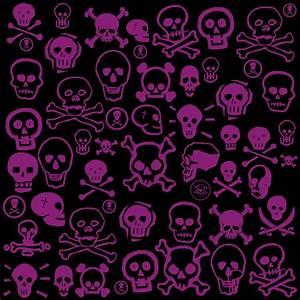 Girly Skull Wallpaper - WallpaperSafari