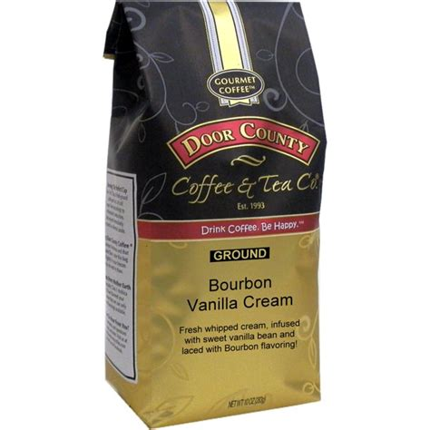 Door county coffee can custom print your special occasion message on our 1.5oz pillow packs of coffee. Door County Coffee Bourbon Vanilla Cream, Bourbon & Vanilla Flavored Specialty Coffee, Medium ...