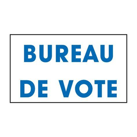 vente panneaux de signalisation pour bureaux de vote 233 lections doublet