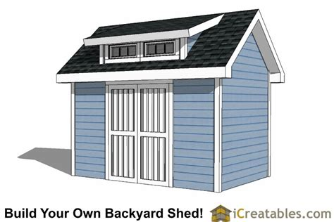 8x12 shed plans 8x12 shed plans with icreatables