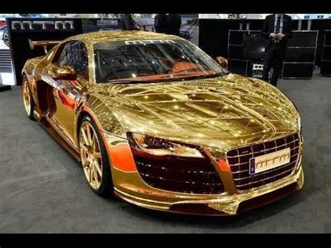 expensive cars gold most expensive car gold car in dubai 2015 porsche gold