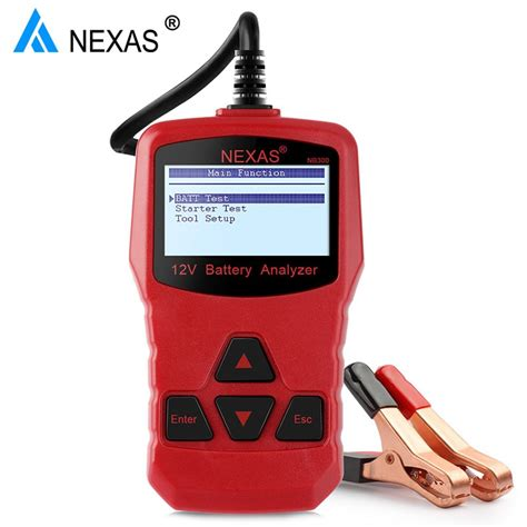 If the battery works below its capacity, the vehicle's performance will be significantly rather than waiting for your car battery to start showing signs of weakness, you should test it regularly alongside other components of the car's. 12 V Car Battery Check Tester Analyzer Nexas NB300 12V Car ...