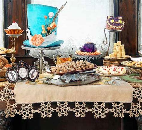 alice and wonderland table decorations halloween party decorations mad tea party decorating