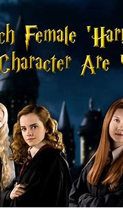 Which Female 'Harry Potter' Character Are You? - Quiz - Zimbio