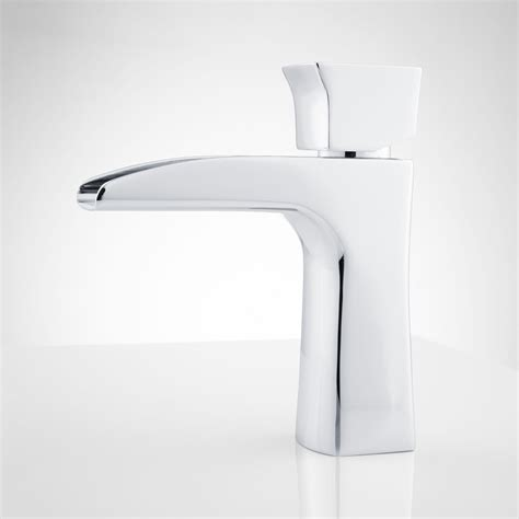 waterfall bathroom faucet chrome corbin single hole waterfall bathroom faucet bathroom