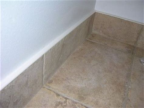 Bathroom Baseboard Ideas by Baseboard Design Ideas Matching Tile Baseboard Easy To