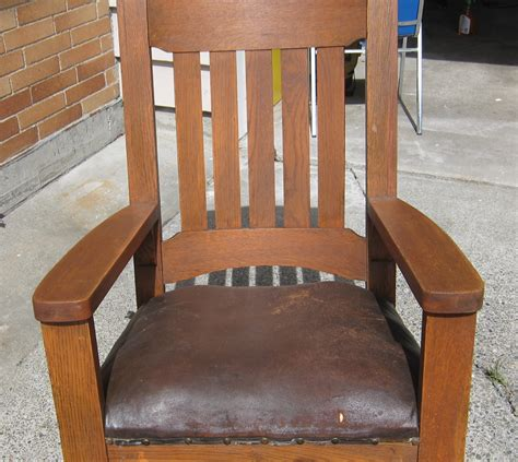 wood mission style oak chair pdf plans