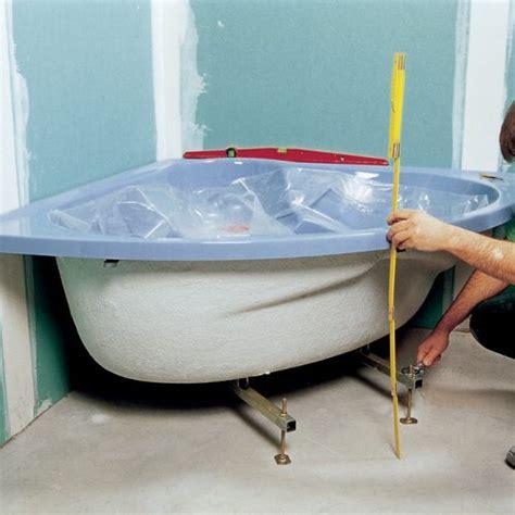 comment installer une baignoire balneo installer une baignoire d angle avec un tablier int 233 gr 233 diy family