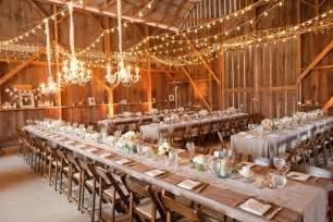 black banquet chair covers 10 barn wedding decor ideas