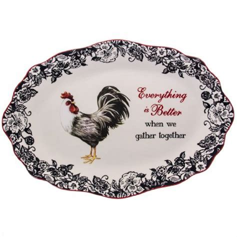 Rooster Serving Platter : Dinnerware & Serveware