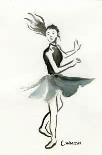 Ballet Dancer Drawing Sketches