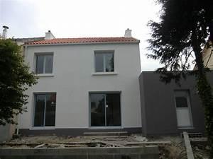 Peinture Facade Maison : moderniser facade maison resine de protection pour peinture ~ Melissatoandfro.com Idées de Décoration