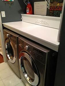 Countertops, Over, Washer, And, Dryer