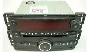 2008 Saturn Vue Factory Am Fm Radio Cd Mp3 Player