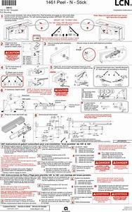 Lcn 1461 Pa Mount Installation Guide Lcn1461pamount