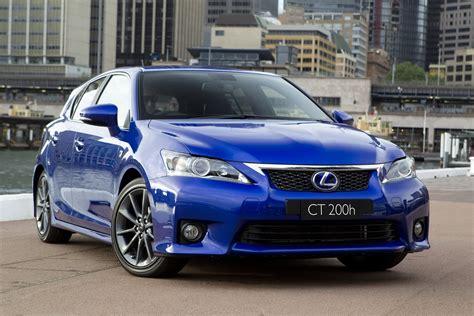 si鑒e auto sport lexus ct 200h f sport receives premiere at 2010 sydney carscoops com