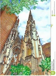 Church Stock Illustration - Image: 57534074