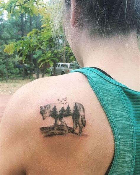 women tattoo wolf tattoo designs  couples